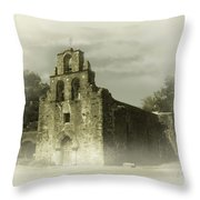 Mission Espada Throw Pillow