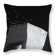 Mission Flight 3 Throw Pillow