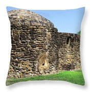 Mission Fort Throw Pillow