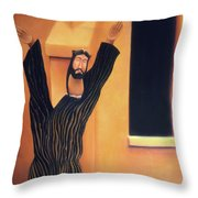 Mission Icon Throw Pillow