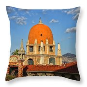 Mission Inn Dome Throw Pillow