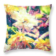 Mission Plants Throw Pillow