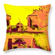 Mission Pop Throw Pillow