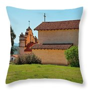 Mission San Antonio De Padua, Jolon, California Throw Pillow