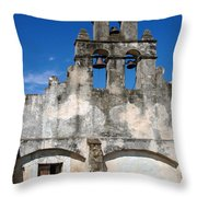 Mission San Jaun Capistrano Throw Pillow