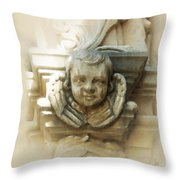 Mission San Jose Angel Throw Pillow