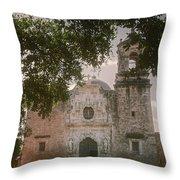 Mission San Jose In San Antonio Throw Pillow