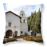 Mission San Juan Throw Pillow