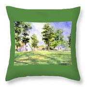 Mission San Luis Throw Pillow