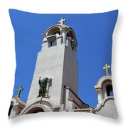 Mission San Rafael Arcangel Throw Pillow
