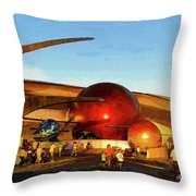 Mission Space Throw Pillow
