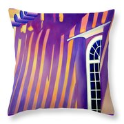 Mission St Francis Assisi At Noon Throw Pillow