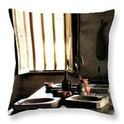 Mission Still Life 2 Throw Pillow by Dana Patterson