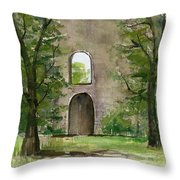 Mission Wall Throw Pillow