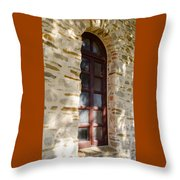 Mission Window Throw Pillow