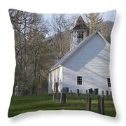 Missionary Bapist Church  Throw Pillow
