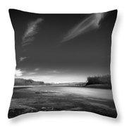 Mississinewa Landscape Throw Pillow