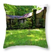 Mississippi Country Place Throw Pillow