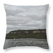 Mississippi River Lake Pepin 6 Throw Pillow