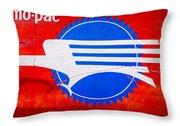 Missouri Pacific Throw Pillow