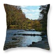 Missouri River Throw Pillow