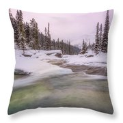 Mistaya Canyon Throw Pillow
