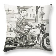 Mister Cool Throw Pillow