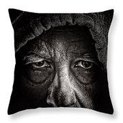 Mister Rocco Throw Pillow
