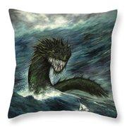 Mistress Of The Sea Throw Pillow