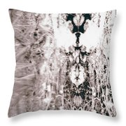 Mistress Of The Waterline Throw Pillow