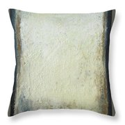 Misty December Throw Pillow