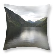 Misty Fjord 3 Throw Pillow