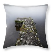Misty Lough Erne Throw Pillow
