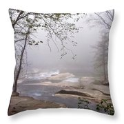 Misty Morning Series 1a Throw Pillow