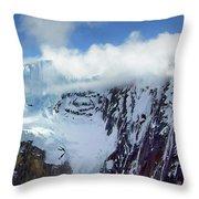 Misty Mountain Flat Top Throw Pillow
