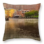 Misty River Cleveland Throw Pillow