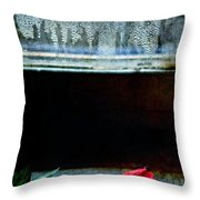 Misty Rose Throw Pillow