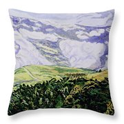 Misty Vumba Throw Pillow