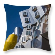 Mit Stata Center Cambridge Ma Kendall Square M.i.t. Throw Pillow