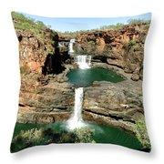 Mitchell Falls Cascades Throw Pillow