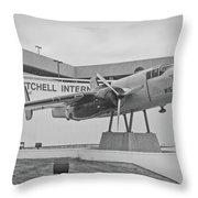 Mitchell International Airport Throw Pillow