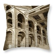 Mithlond Gray Havens Throw Pillow