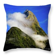 Mitre Peak Throw Pillow