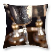 Mitzvah Cup Throw Pillow