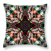 Mix Edit Throw Pillow