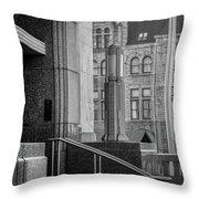 Mixed Architecture Throw Pillow