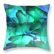 Mixed Greens Throw Pillow