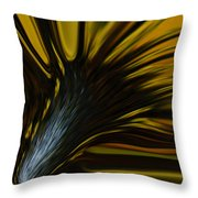 Mixed Sunflower Throw Pillow