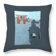 Miyajima Throw Pillow