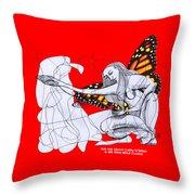 Mk Ultra Series Cathy O'brien Throw Pillow